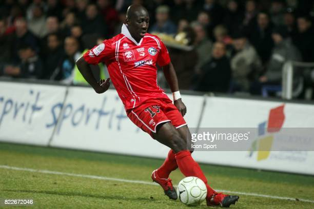Moussa SIDIBE Nimes / Nantes 26eme journee de Ligue 2 2009/2010