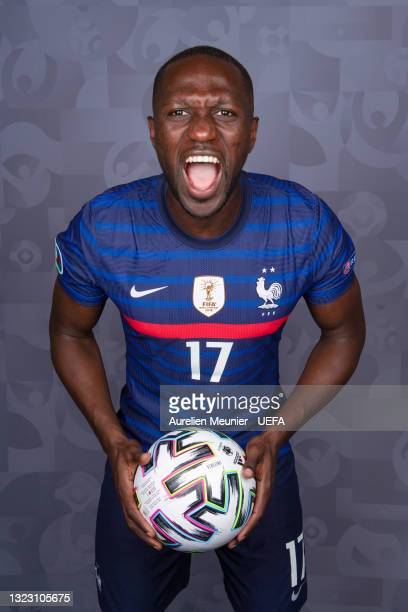 Moussa Sissoko of France poses during the official UEFA Euro 2020 media access day on June 10, 2021 in Rambouillet, France.