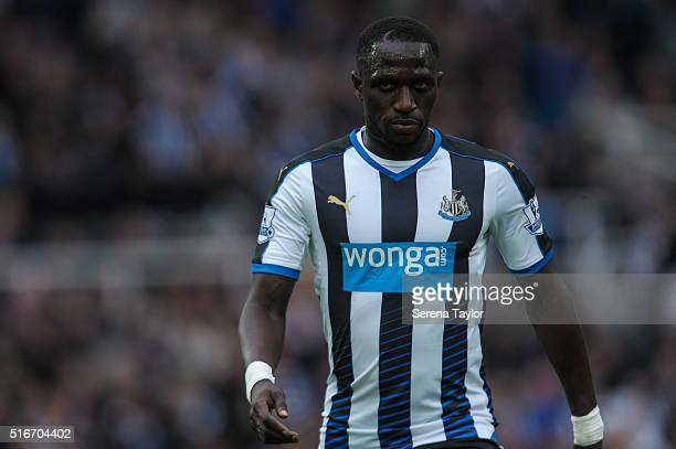 Moussa Sissoko of Newcastle during the Premier League match between Newcastle United and Sunderland at StJames' Park on March 20 in Newcastle upon...