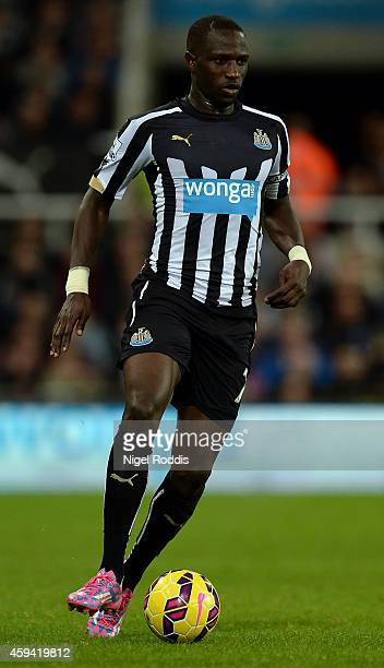 Moussa Sissoko of Newcastle United during the Barclays Premier League football match between Newcastle United and Queeens Park Rangers at St James'...