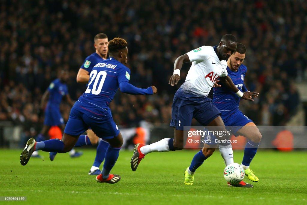 Tottenham Hotspur v Chelsea - Carabao Cup Semi Final First Leg : News Photo