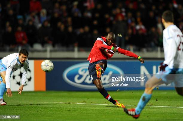 Moussa SOW Lille / Trabzonspor Champions League 2011/2012 Photo Dave Winter / Icon Sport