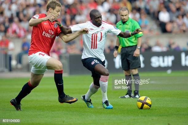 Moussa SOW PSG / Lille 37eme journee de Ligue 1