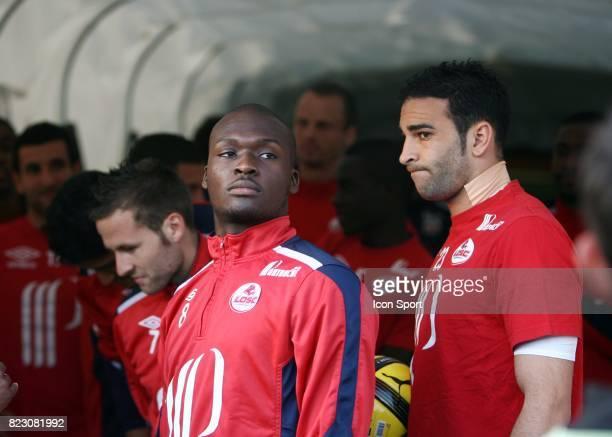 Moussa SOW / Adil RAMI û Lorient / Lille 32 eme journee de Ligue 1