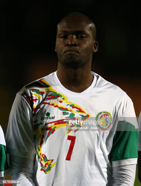Moussa Sow of Senegal during the International Friendly match between Nigeria and Senegal at The Hive on March 23 2017 in Barnet England