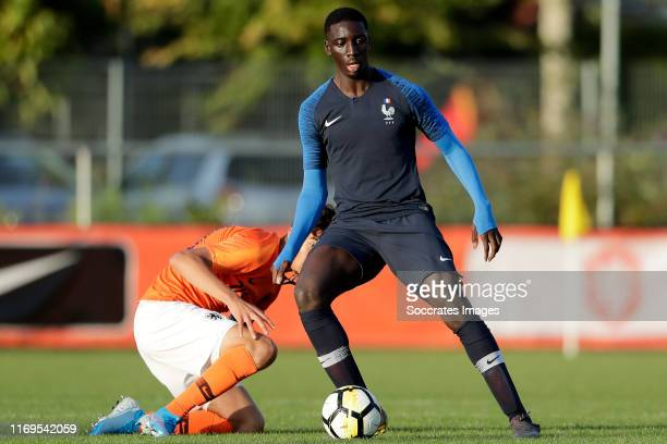 Moussa Suso of Fance U17 during the U17 Men match between Holland v France at the Sportpark Vondersweijde on September 19, 2019 in Oldenzaal...
