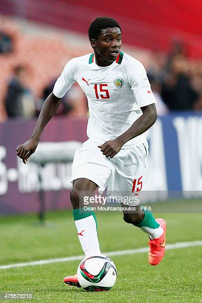 Moussa Wague of Senegal in action during the FIFA U20 World Cup New Zealand 2015 Group C match between Portugal and Senegal held at Waikato Stadium...