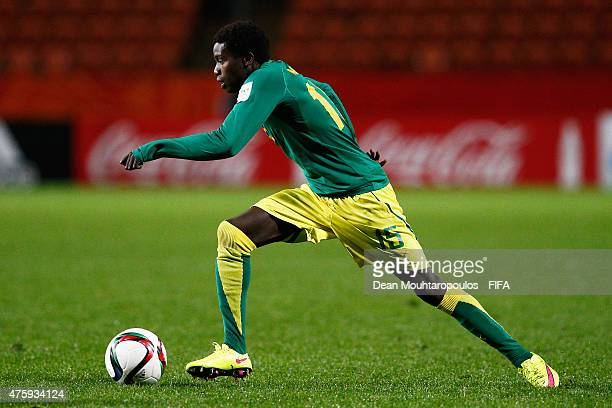 Moussa Wague of Senegal in action during the FIFA U20 World Cup New Zealand 2015 Group C match between Senegal and Colombia held at Waikato Stadium...