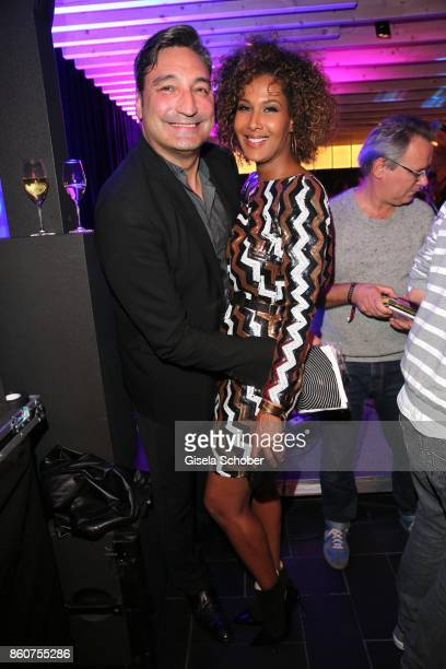 Mousse T and Marie Amiere during the grand opening of Roomers IZAKAYA on October 12 2017 in Munich Germany