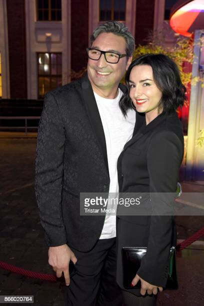 Mousse T and Mimi Fiedler attend the German Comedy Awards at Studio in Koeln Muehlheim on October 24 2017 in Cologne Germany