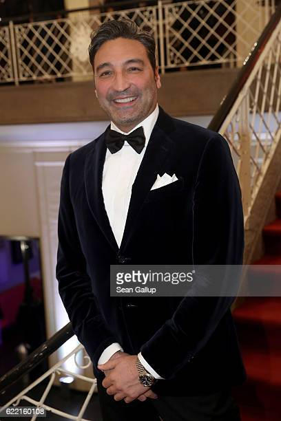 Mousse T arrives at the GQ Men of the year Award 2016 at Komische Oper on November 10 2016 in Berlin Germany