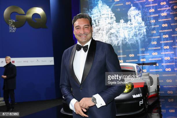 Mousse T arrives for the GQ Men of the year Award 2017 at Komische Oper on November 9 2017 in Berlin Germany