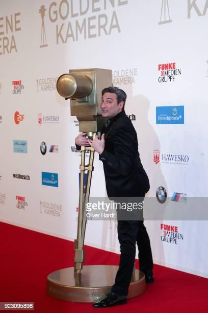 Mousse T attends for the Goldene Kamera on February 22 2018 in Hamburg Germany