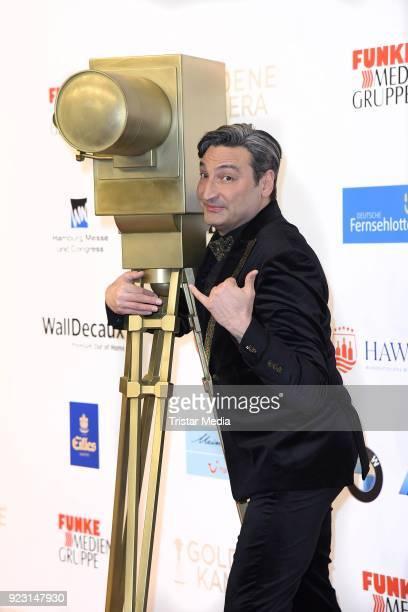Mousse T attends the Goldene Kamera on February 22 2018 in Hamburg Germany