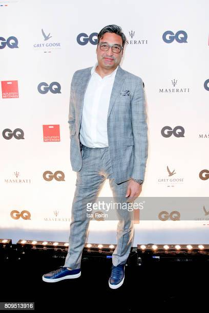 Mousse T attends the GQ Mension Style Party 2017 at Austernbank on July 5 2017 in Berlin Germany