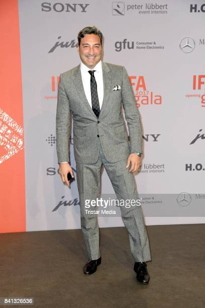 Mousse T attends the IFA 2017 opening gala on August 31 2017 in Berlin Germany