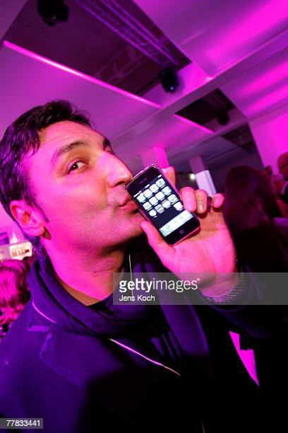 Mousse T attends the iPhone Launch Party at the RheinTriadem November 9, 2007 in Cologne, Germany.