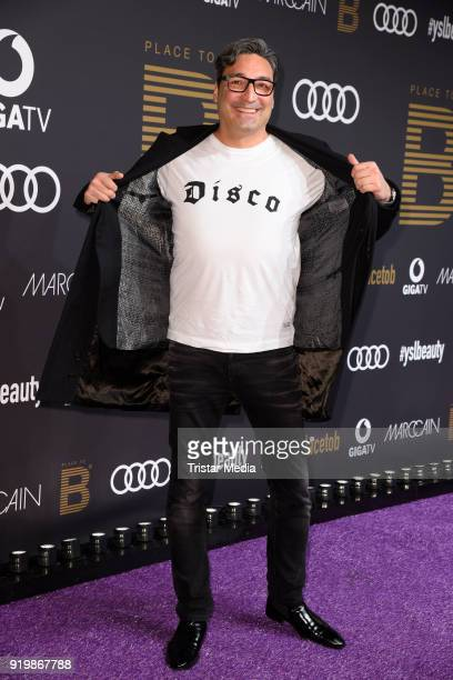 Mousse T attends the PLACE TO B Party on February 17 2018 in Berlin Germany