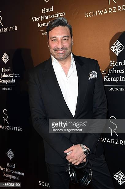 Mousse T attends the Schwarzreiter Tagesbar Opening In Munich at Hotel Vier Jahreszeiten on March 12 2015 in Munich Germany