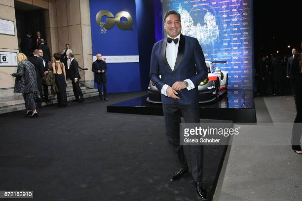 Mousse Tarrives for the GQ Men of the year Award 2017 at Komische Oper on November 9 2017 in Berlin Germany