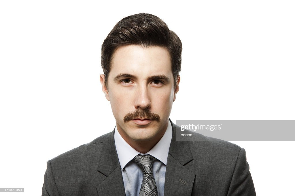 Moustache man : Stock Photo