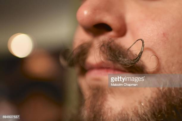 Moustache to celebrate Movember Taken on November 13 2015 London UK