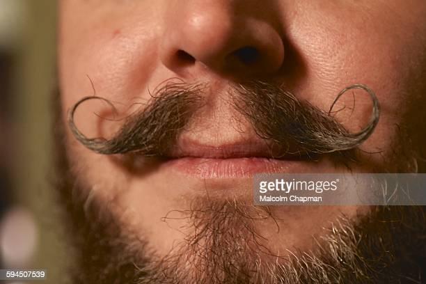 Moustache to celebrate Movember Taken on November 13 2015 London UK