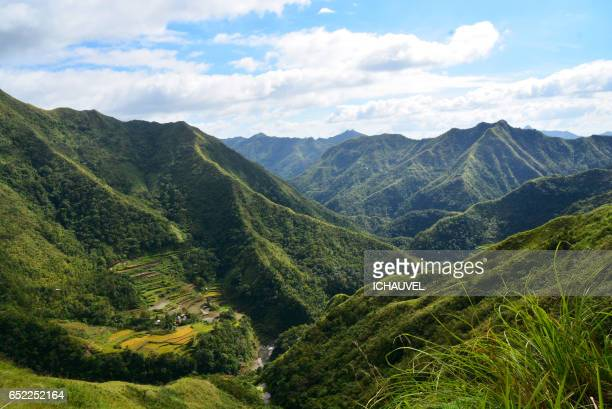 Moutains in north Philippines