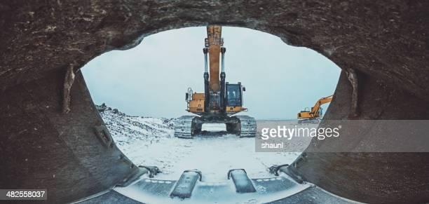Mündung des Excavator