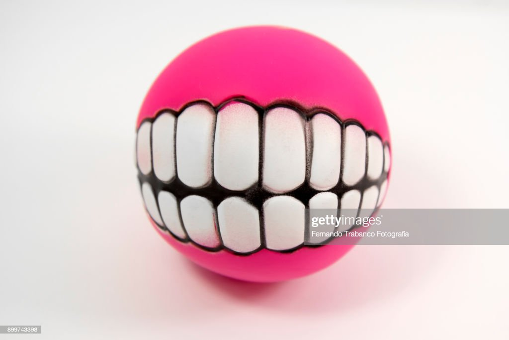 Mouth with teeth : Stock Photo