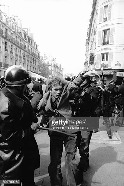 Mouvements et manifestations survenus en France durant les évènements de Mai 68 à Paris France en mai 1968