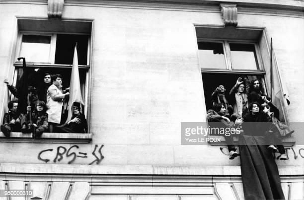 Mouvements et manifestations survenus en France durant les évènements de Mai 68 à Paris France