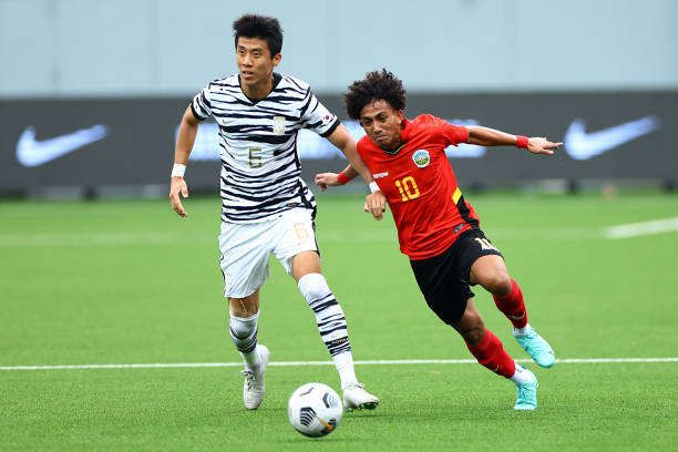 SGP: Timor-Leste v South Korea - AFC U-23 Asian Cup Qualifier Group H