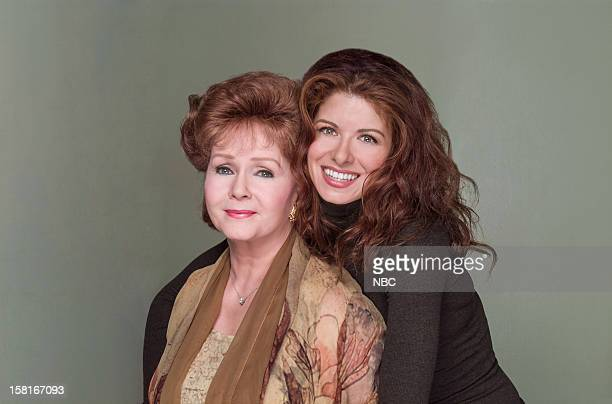 WILL GRACE Moveable Feast Episode 9 Pictured Debbie Reynolds as Bobbi Adler Debra Messing as Grace Adler