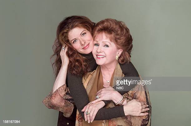 WILL GRACE Moveable Feast Episode 9 Pictured Debra Messing as Grace Adler Debbie Reynolds as Bobbi Adler