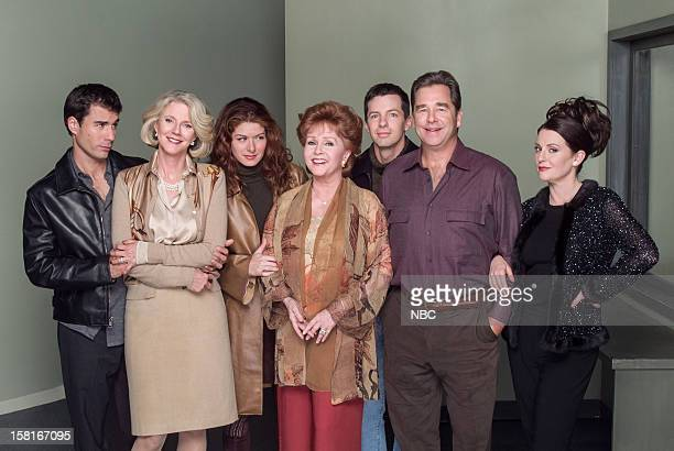 WILL GRACE Moveable Feast Episode 9 Pictured Eric McCormack as Will Truman Blythe Danner as Marilyn Truman Debra Messing as Grace Adler Debbie...