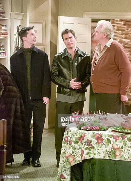 WILL GRACE Moveable Feast Episode 9 Pictured Sean Hayes as Jack McFarland Eric McCormack as Will Truman Kenneth Mars as Uncle Sid