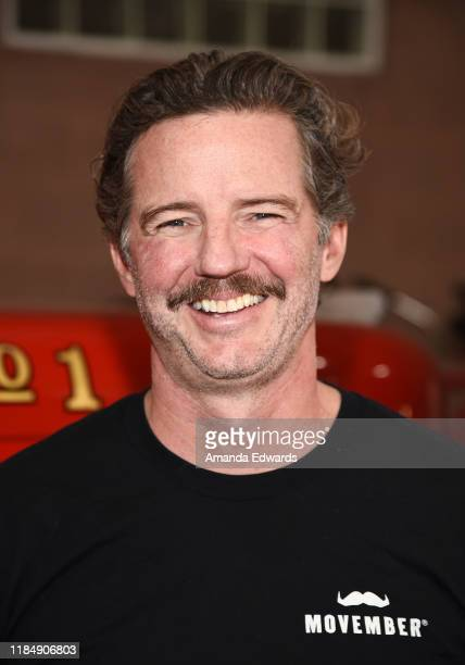 Movember Executive Director Mark Hedstrom attends the MOVEMBER Kickoff Event with Tarek El Moussa and Jason O'Mara at the Culver City Fire Department...