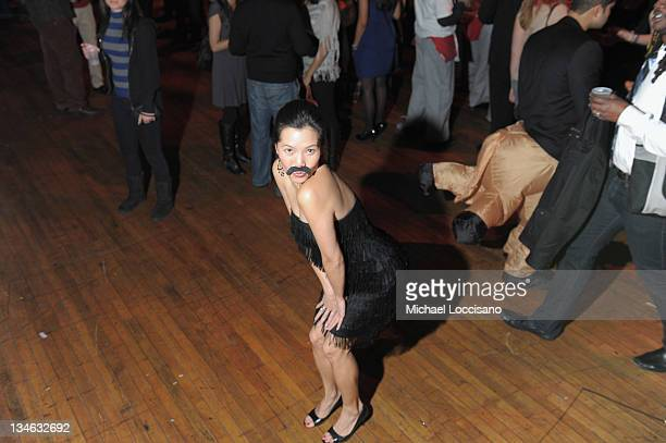Movember participant attends the Movember Gala 2011 at the Roseland Ballroom on December 2 2011 in New York City