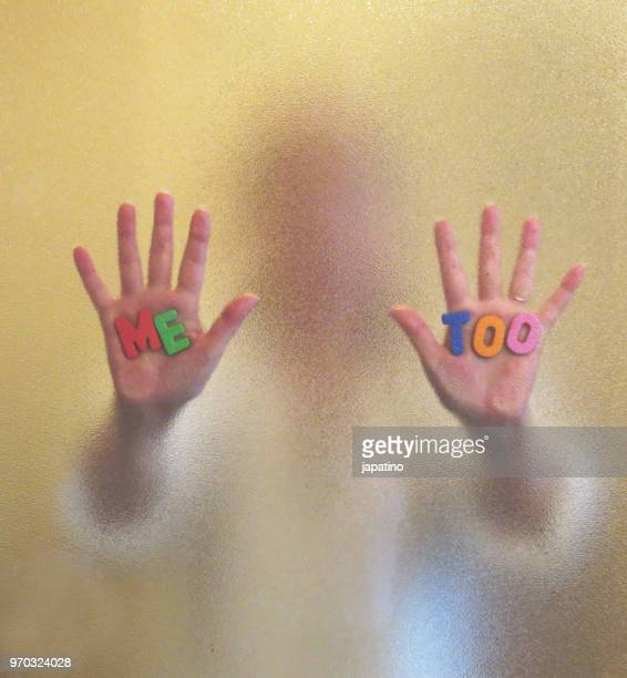 movement me too - sexual harassment stock pictures, royalty-free photos & images