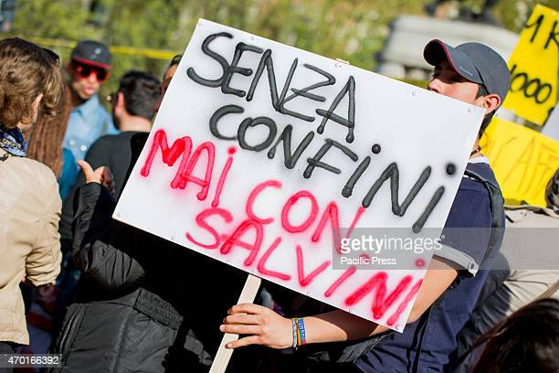 """Movements for the home rights return to the street. The demonstration of the """"Movimento per il diritto all Abitare marched the streets of city center..."""