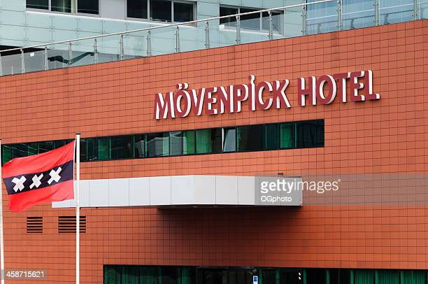 movenpick hotel in amsterdam, holland - ogphoto bildbanksfoton och bilder