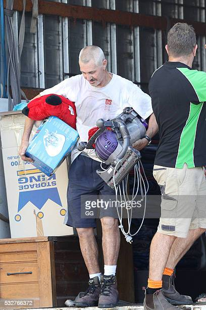 A Mover brings in items for former NRL Player Andrew Johns as he moves into his recently purchase property in Bronte on May 19 2016 in Sydney...
