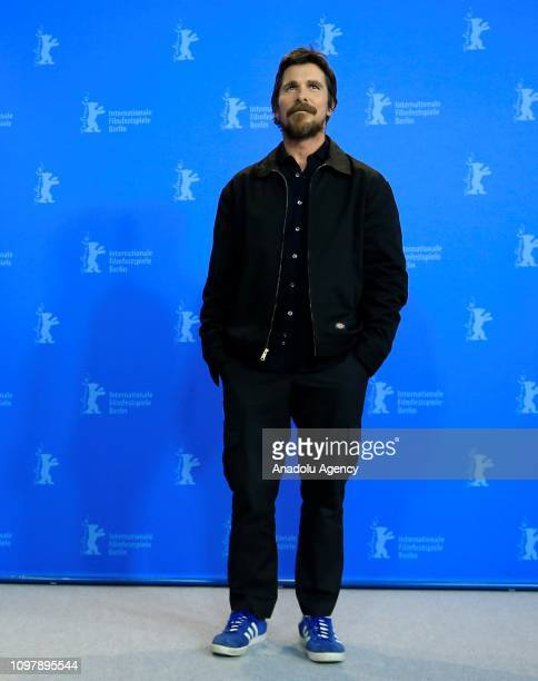 "Movie actor Christian Bale attends the press conference of the movie ""Vice"" within the 69th Berlinale International Film Festival on February 11,..."