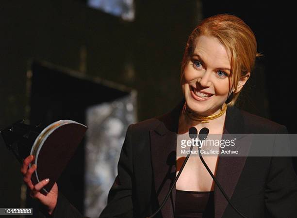 Movie Actress of the Year Nicole Kidman during The 5th Annual Hollywood Film Festival Gala Ceremony Awards Show at Beverly Hilton Hotel in Beverly...
