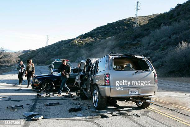 KNIGHT RIDER Movie Airdate 2/17/2008 Pictured Sydney Tamiia Poitier as Carrie Rivai Justin Bruening as Mike Traceur