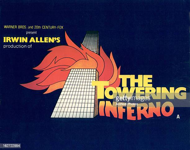 Movie art for the film 'The Towering Inferno' 1974