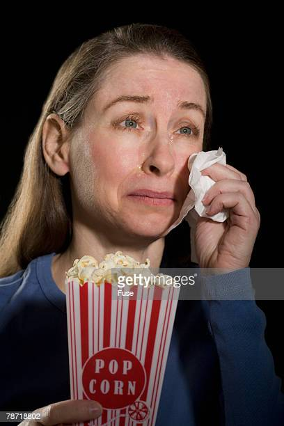 Movie Audience Member Crying
