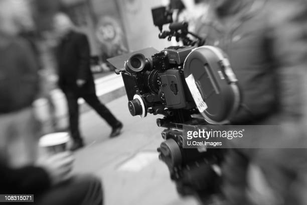movie camera - film studio stock pictures, royalty-free photos & images