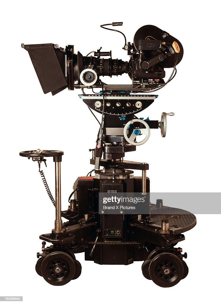 Movie camera : Stock Photo